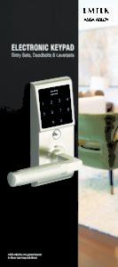 Emtek: Brochure de poche pour serrure électronique