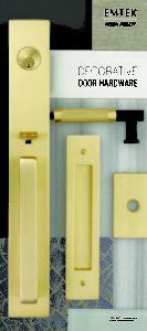 Emtek: Brochure de poche pour matériel décoratif de porte