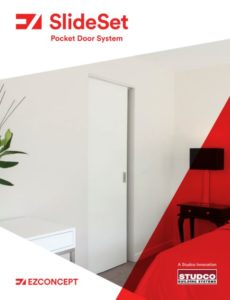 EZ Concept SlideSet - Pocket door